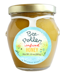 Bare Honey Bee Pollen Infused Honey