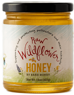 Bare Honey Raw Wildflower Honey