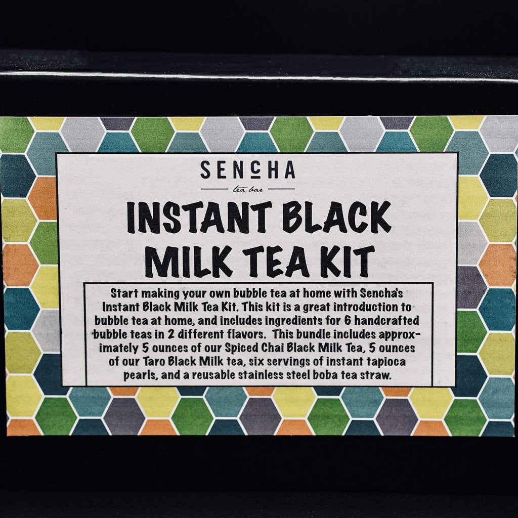Instant Black Milk Tea Kit