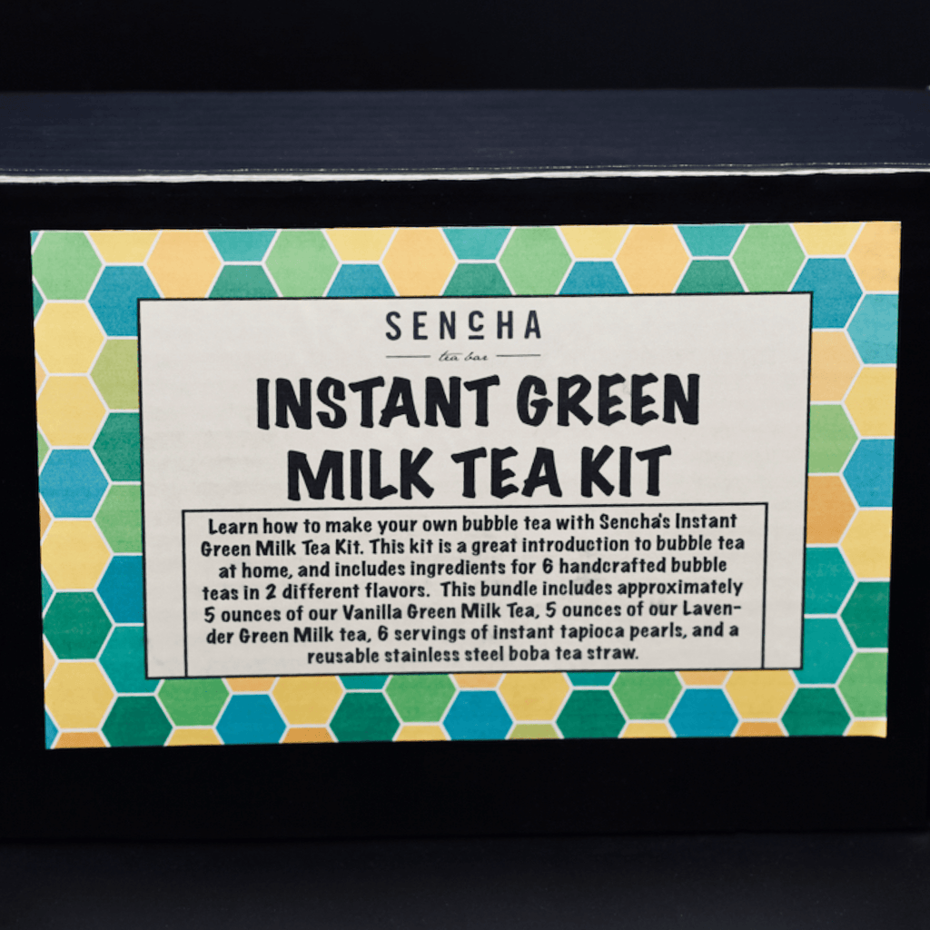 Instant Green Milk Tea Kit