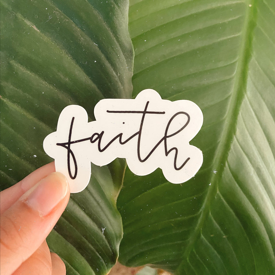 Faith, Hope, Love - Sticker Pack