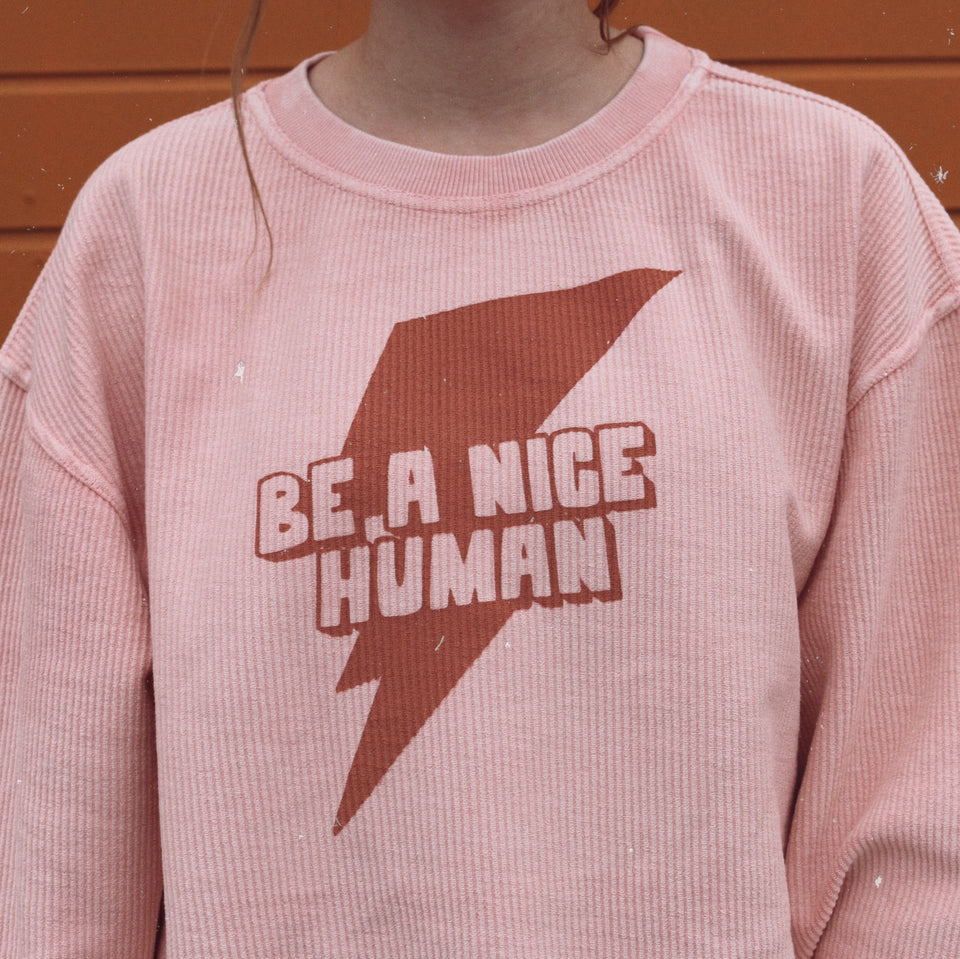 Be A Nice Human - Corded Crew