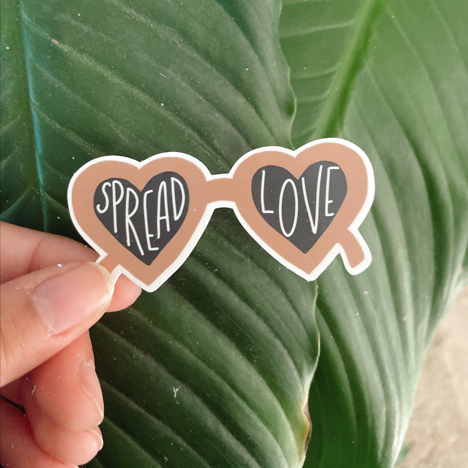 Spread Love - Sticker