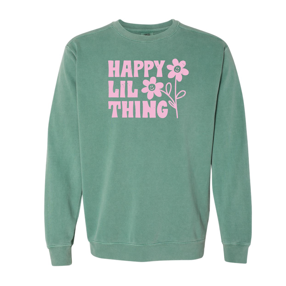 Happy Lil Thing - Sweatshirt