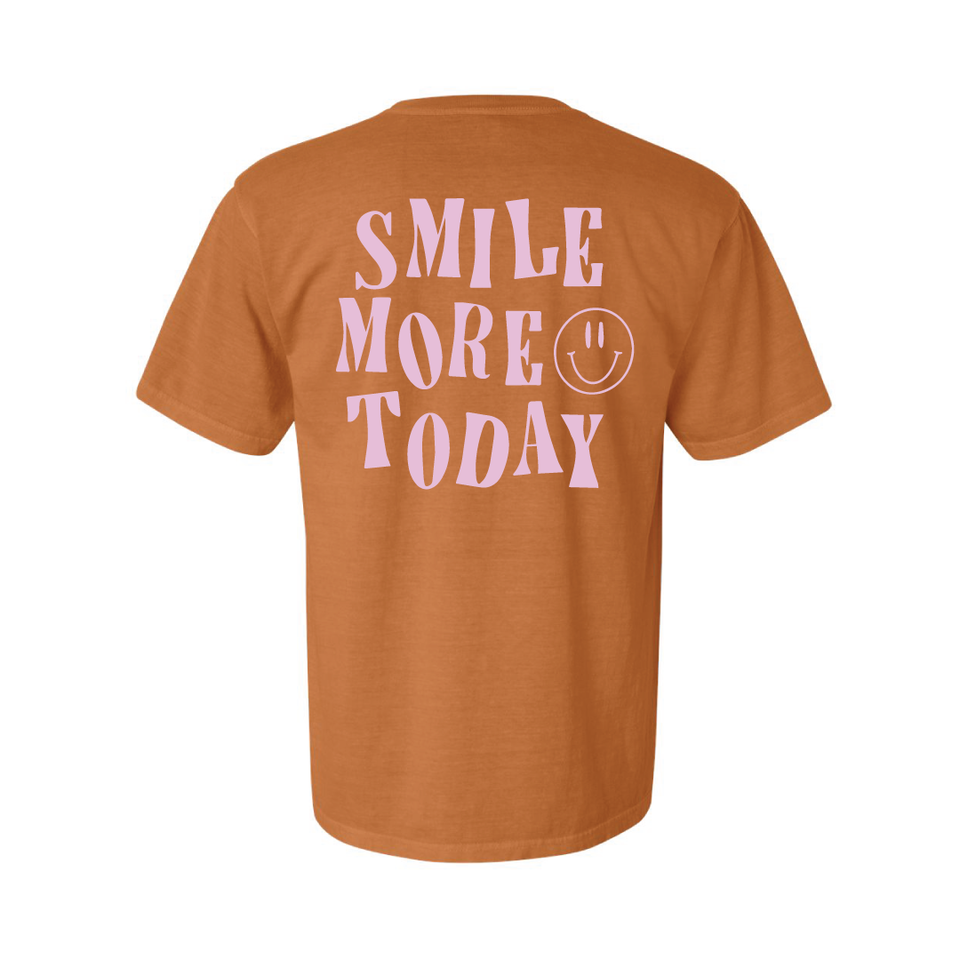 Smile More - Shirt