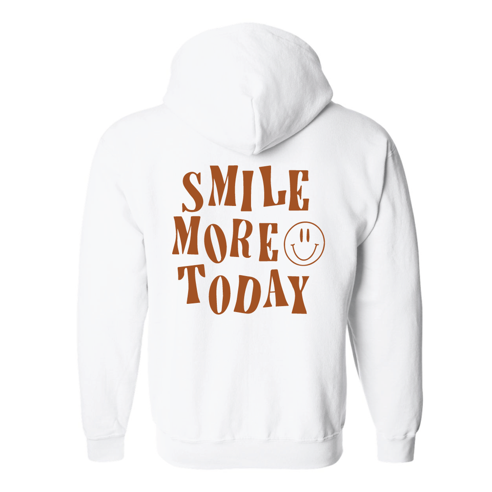 Smile More - Zip Up