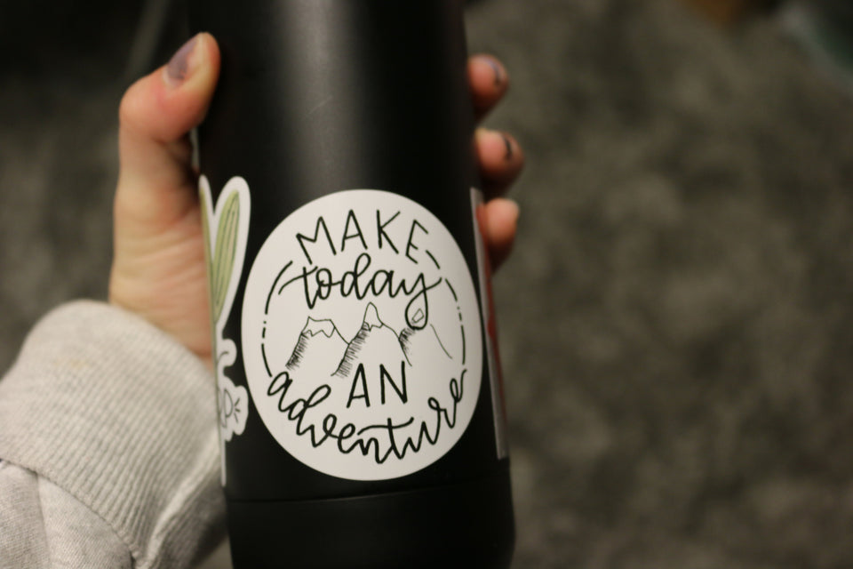 Make Today An Adventure - Sticker