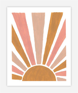 Colorful Sun - Print
