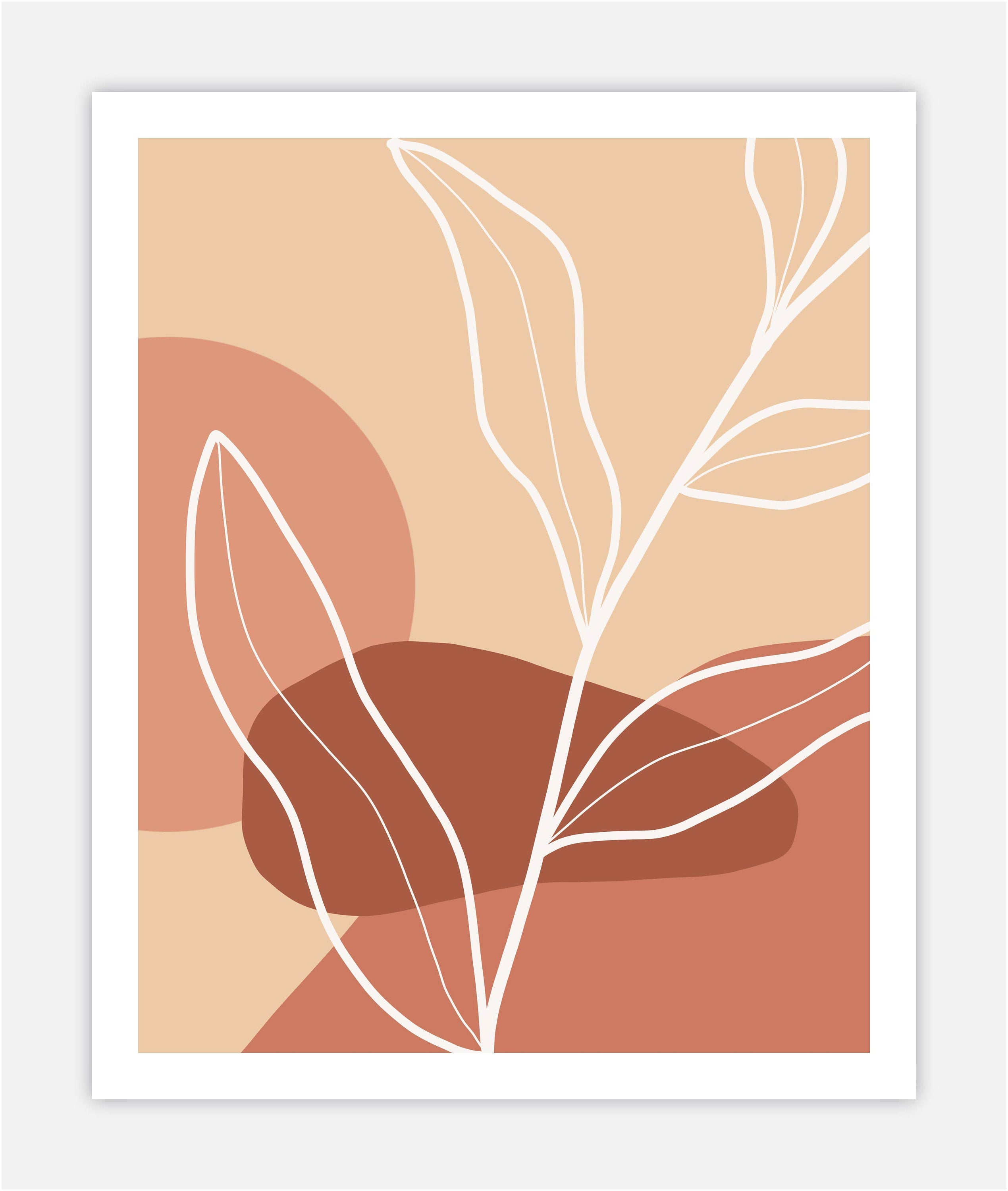 Abstract Leaf - Print