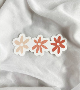 Pink Flowers - Sticker
