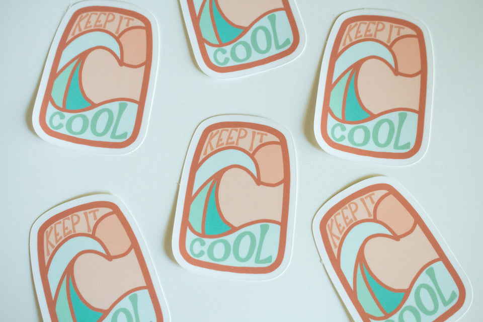 Keep It Cool - Sticker