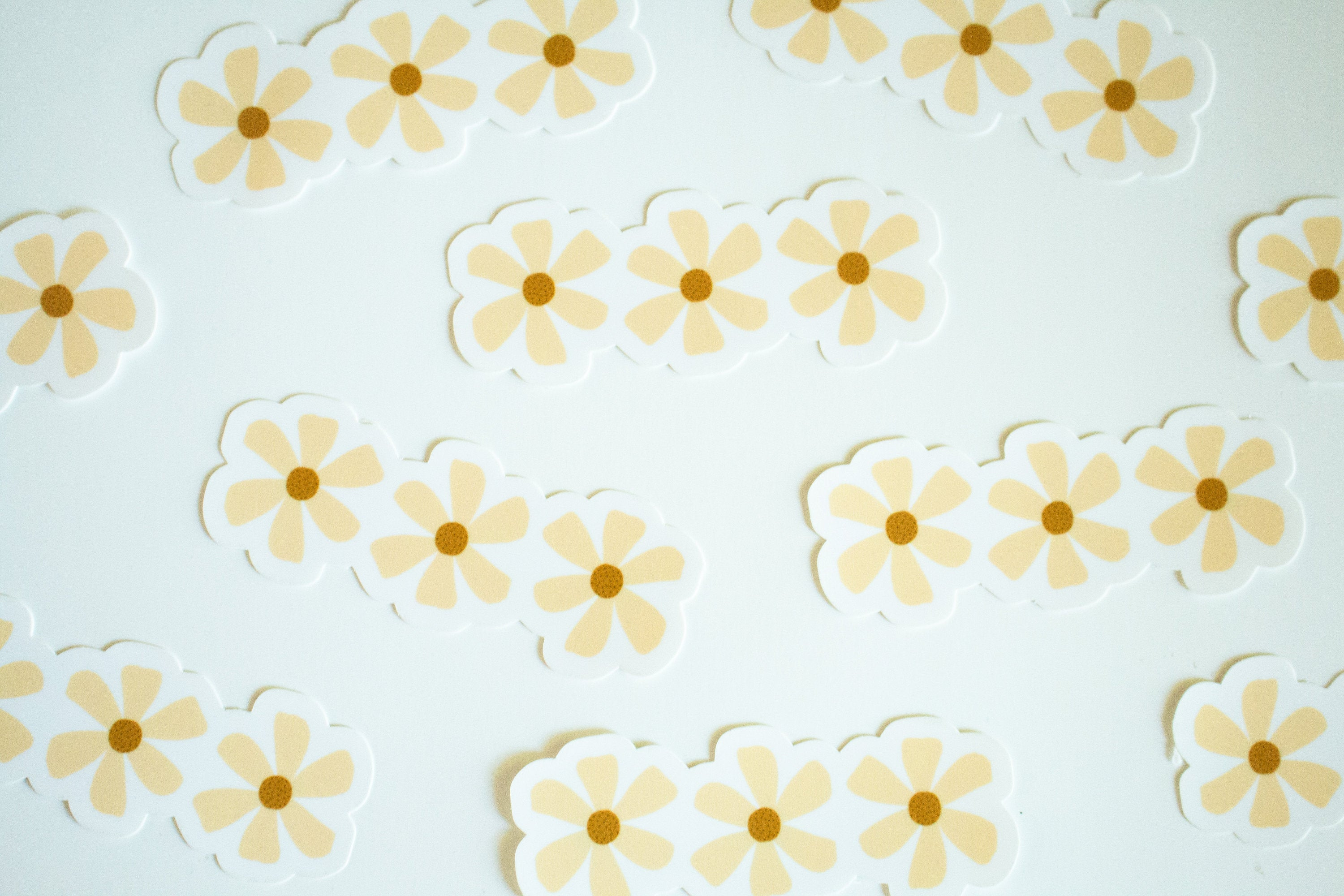 Yellow Flowers - Sticker
