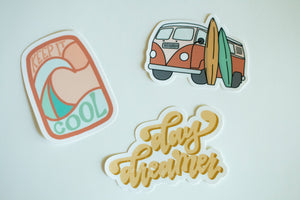 Surf Sticker Pack