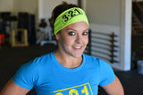 CrossFit-style Headbands 2.0 from 321 Apparel (Neon Green)