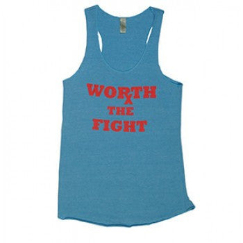 Worth the Fight Women's Workout Tank Tops ---Latitude GearRx