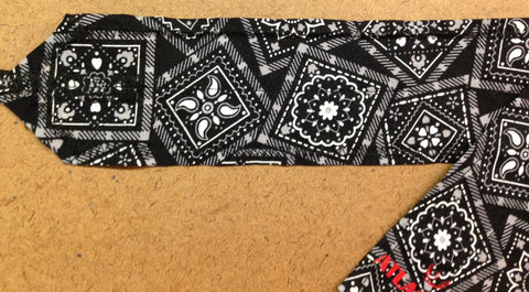 Black Bandana CrossFit-style wrist wraps --- Atlas Power Wraps