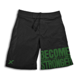 Stronger Rx --Become Stronger men's CrossFit-style shorts