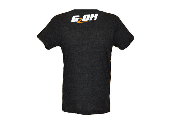 I Like Big Squats men's CrossFit-style t-shirts --- G2OH (back view)