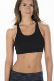 Black Workout Sports Bra from WODGear