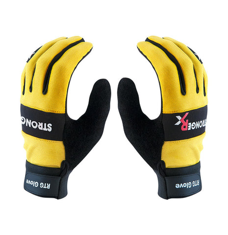 Stronger Rx RTG 2.0 CrossFit-style Gloves (Yellow)