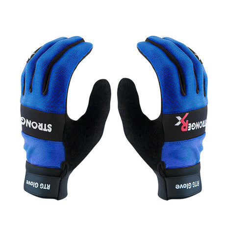Stronger Rx RTG 2.0 CrossFit-style Gloves (Blue)