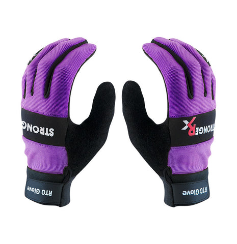 Stronger Rx RTG 2.0 Workout Gloves (Purple)