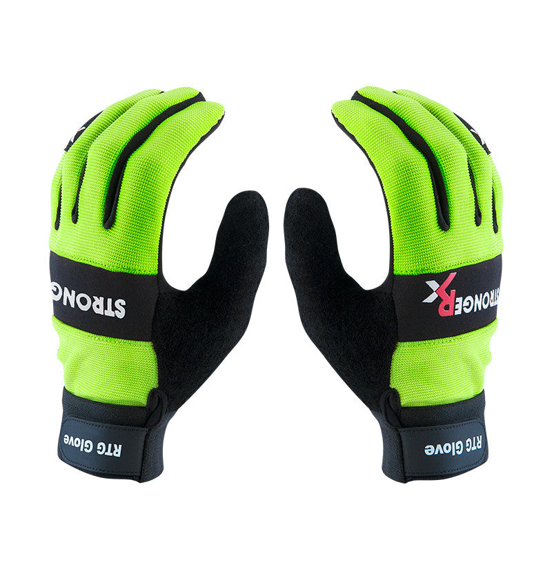 RTG 2.0 CrossFit-style Gloves From Stronger Rx (Green)
