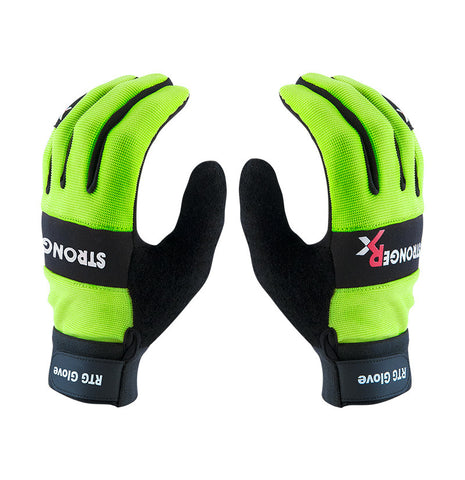 StrongerRx RTG 2.0 CrossFit-style Gloves (Green)