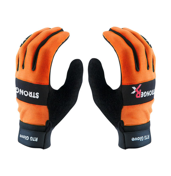 StrongerRx RTG 2.0 CrossFit-style Gloves (Orange)