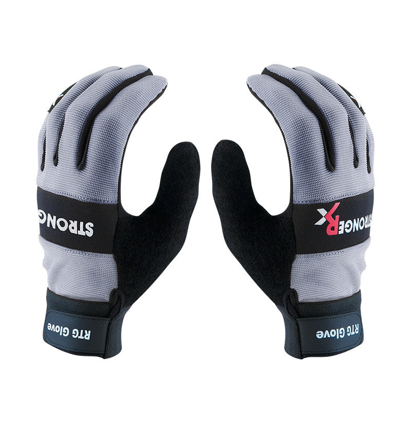 RTG 2.0 CrossFit-style Gloves From Stronger Rx (Grey)