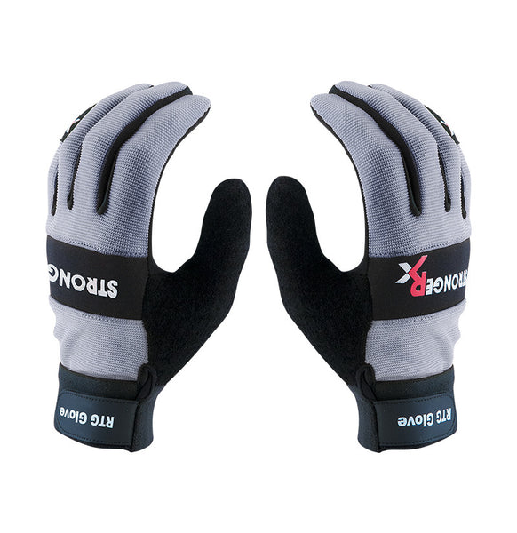 StrongerRx RTG 2.0 CrossFit-style Gloves (Grey)