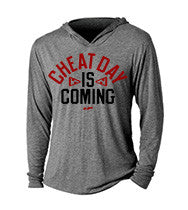 Cheat Day Is Coming CrossFit-style Hoodie from G2OH