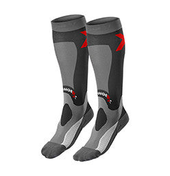 CrossFit-style StrongerRx Recovery Socks (Black)