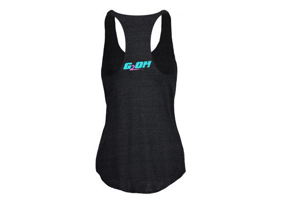 Eat Clean Train Dirty women's CrossFit tank tops (back) --- G2OH