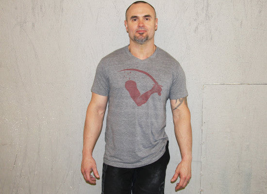 Goliad Men's CrossFit-style t-shirt --- G2OH