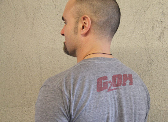 Goliad men's CrossFit-stylet-shirts (back) --- G2OH