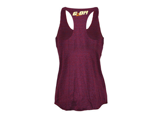 Hakuna Tabata Women's CrossFit-themed Tank Tops --- G2OH (back)