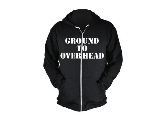 Kettlebell Commandments Black Performance Hoodie from G2OH