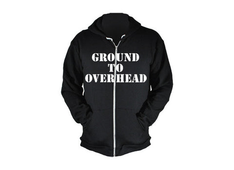Kettlebell Commandments Hoodie (Black) ---G2OH
