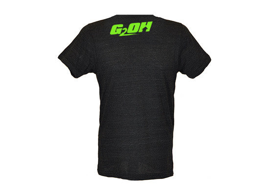 Legendary Leg Day men's CrossFit-themed  t-shirts --- G2OH (black---back view)