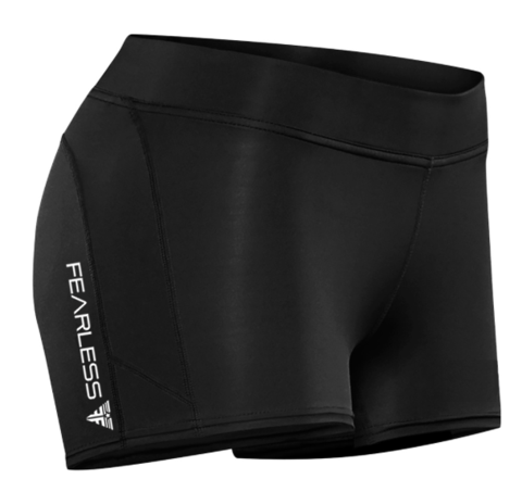 Fearless Stealth CrossFit-style Booty Shorts from Fearless Fitness Apparel