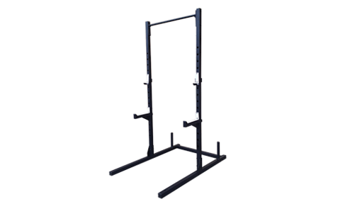 CrossFit-style Squat and Pullup Rack from OneFitWonder