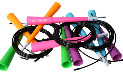 Cable Speed Jump Ropes  --- OneFitWonder