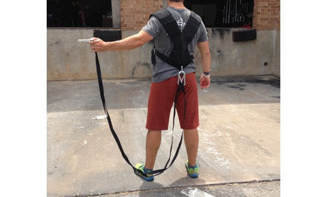 Universal CrossFit-style Sled Harness at Fitness Sanctum