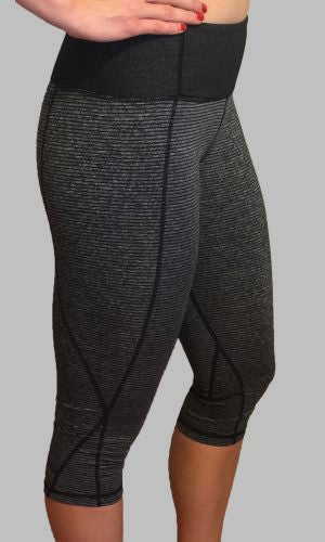 Onyx CrossFit-style Capri Pants from Born Primitive (Side)