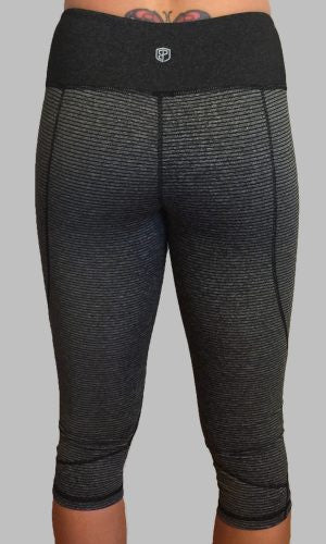 Onyx CrossFit-style Capri Pants from Born Primitive (Back)