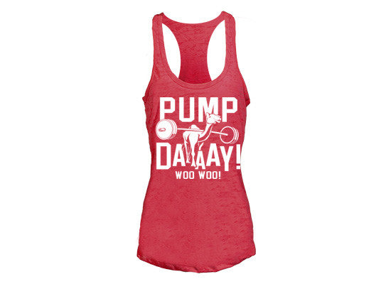 Pump Day Women's CrossFit-style tank tops from G2OH