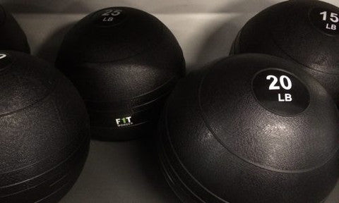 CrossFit Slam Balls from One Fit Wonder