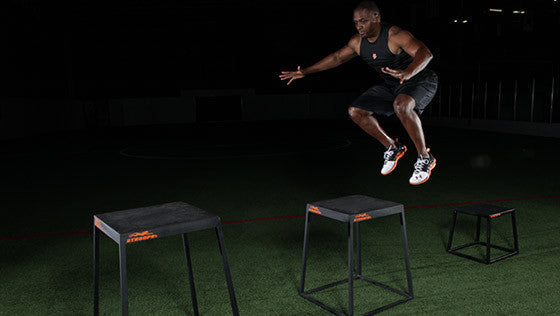 CrossFit-style Plyo Boxes at Stroops Performance  (action)
