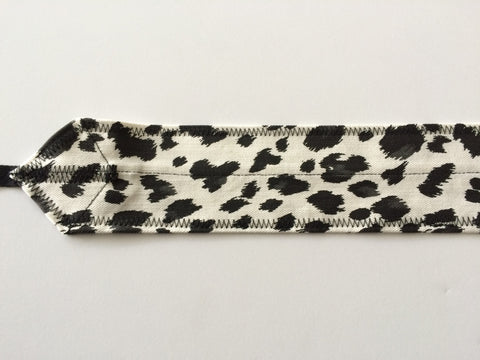 Zebra CrossFit-themed Wrist Wraps from Atlas Power Wraps (White & Black)
